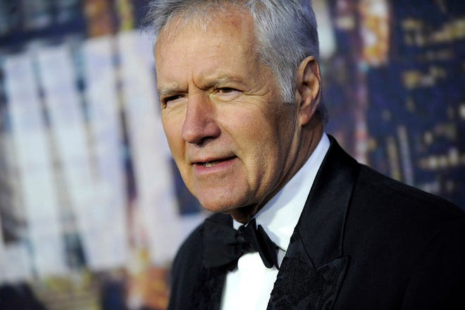 Alex Trebek attends the SNL 40th Anniversary Celebration at Rockefeller Plaza on Feb. 15, 2015. (Dennis Van Tine/Geisler-Fotopres/DPA/Zuma Preses/TNS)