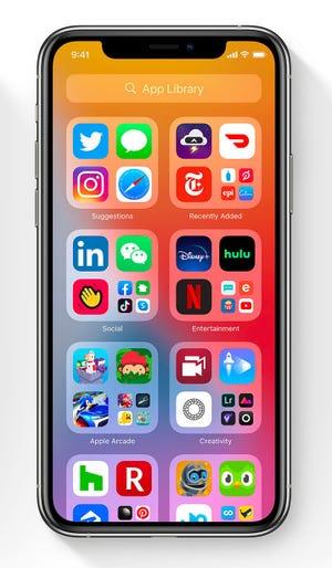 """iOS14 crea """"bibliotecas de aplicaciones"""" de aplicaciones similares"""