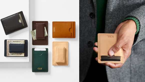 The best Christmas gifts for men: Mark & Graham wallet