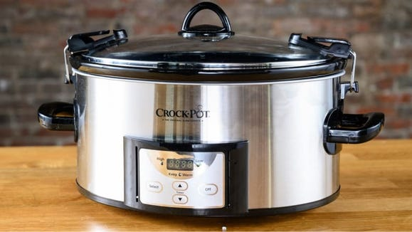 A slow cooker to set-it-and-forget-it