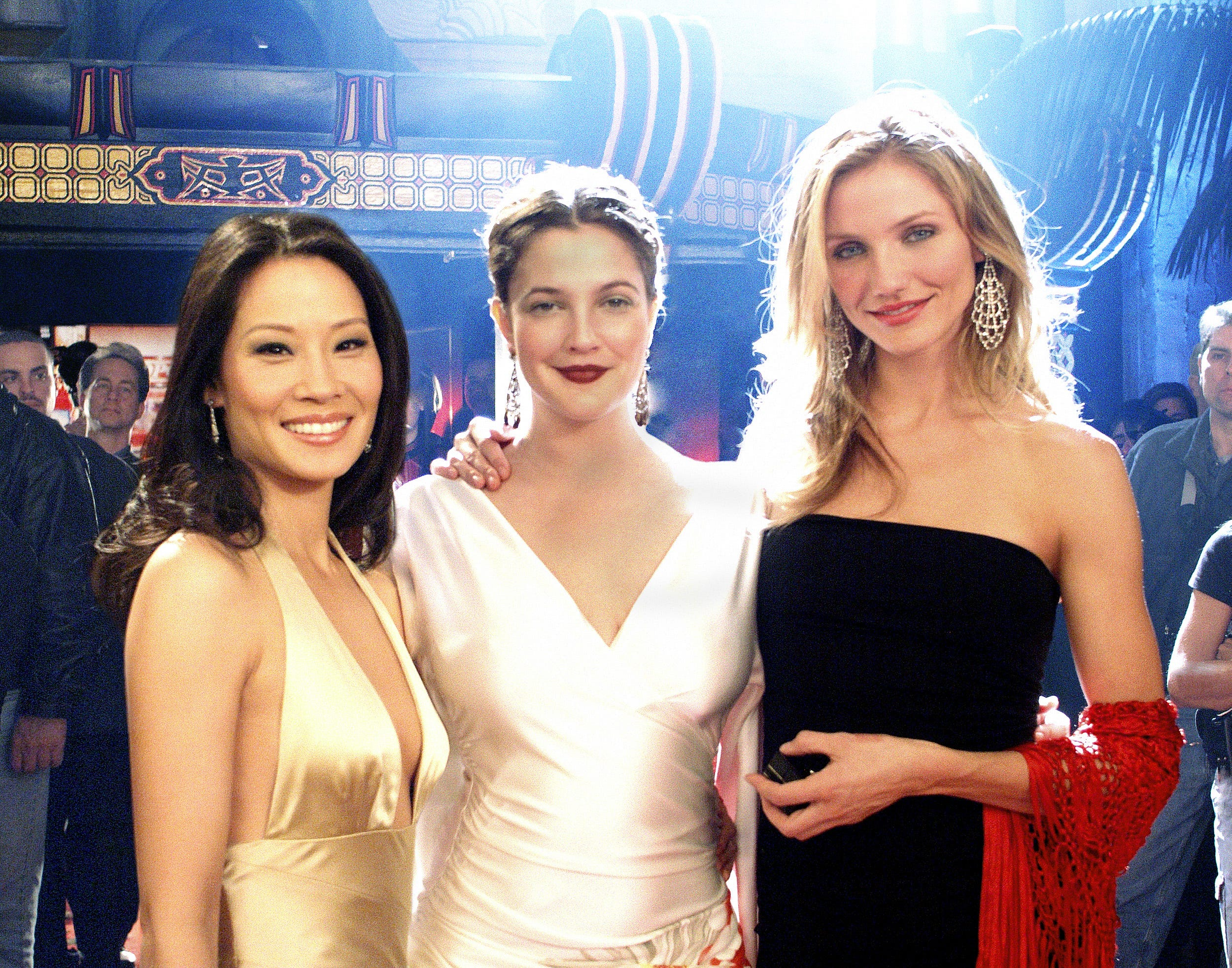 Drew Barrymore Cameron Diaz Lucy Liu Have Charlie S Angels Reunion