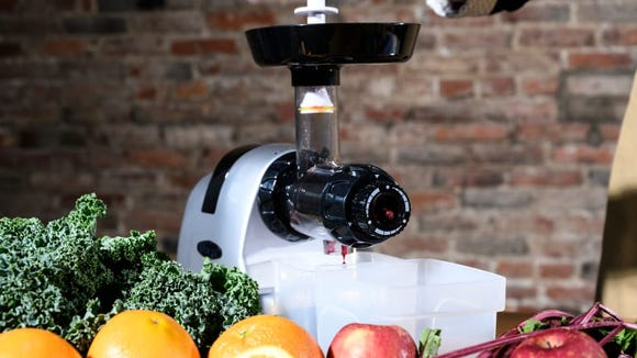 A juicer to help you get your daily dose of fruits and veggies
