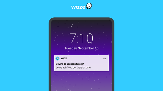 Waze introduces tools to recommend when you leave