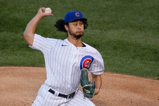 Chicago Cubs pitcher Yu Darvish has a 7-2 record with a  1.77 ERA but has faced only one team with a current winning record.