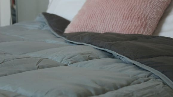 A cozy comforter to help you rest