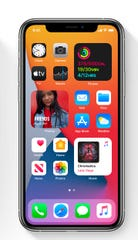 """Apple adds """"widgets"""" to iOS home screen in iOS14"""
