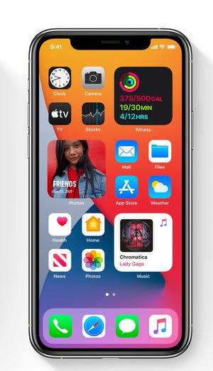 """Apple agrega """"widgets"""" a la pantalla de inicio de iOS en iOS14"""