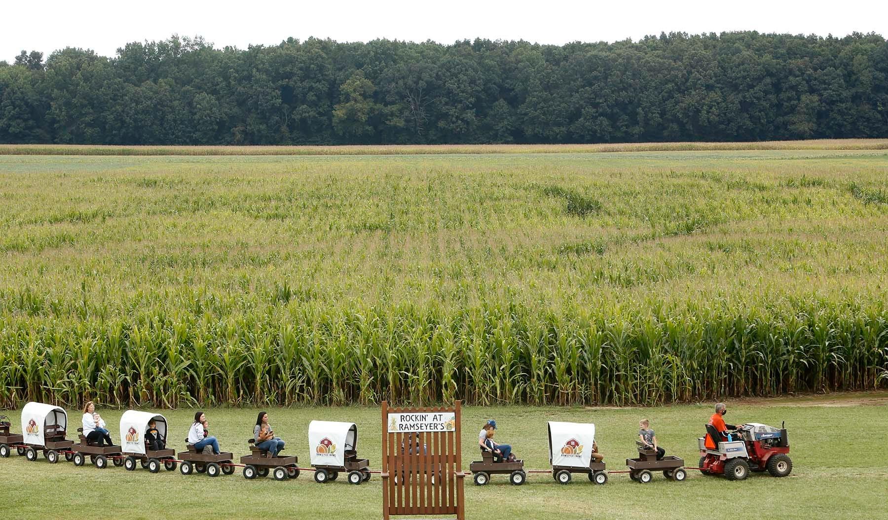 Northeast Ohio Corn Mazes Pumpkin Patches Outdoor Fall Activities