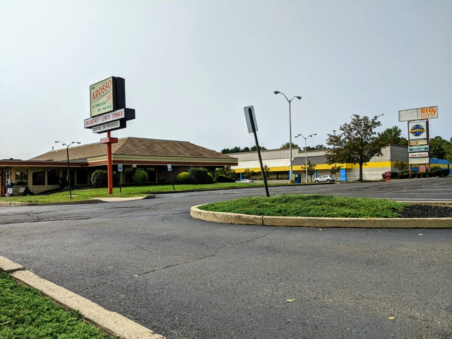 A proposed Wawa would replace Arosso, A Touch of Sicily at the Fairless Hills Shopping Center on Lincoln Highway in Falls.