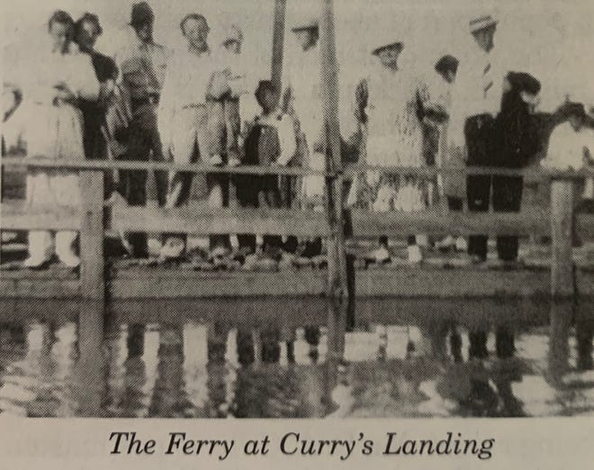 The Ferry at Curry's Landing