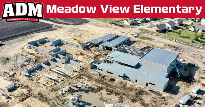The ADM Board of Education voted to approve the name Meadow View Elementary as the name of the new elementary building being constructed in Adel.
