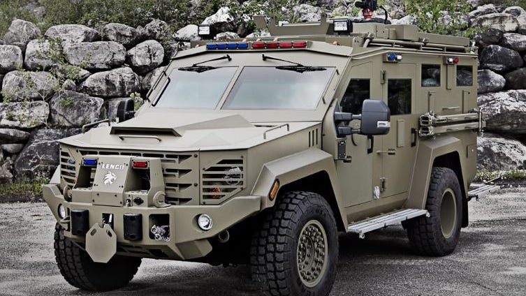 Sheriffs say Biden could strip police of needed armored vehicles