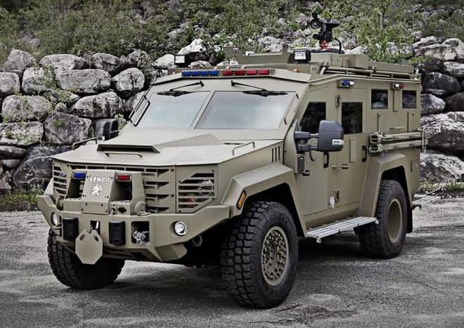 The county sheriff wants a new BearCat, seen here in a promotional image on the company's website. The Volusia County Council approved the request after some debate over whether or not the vehicle was needed when the department already has three other armored personnel carriers.