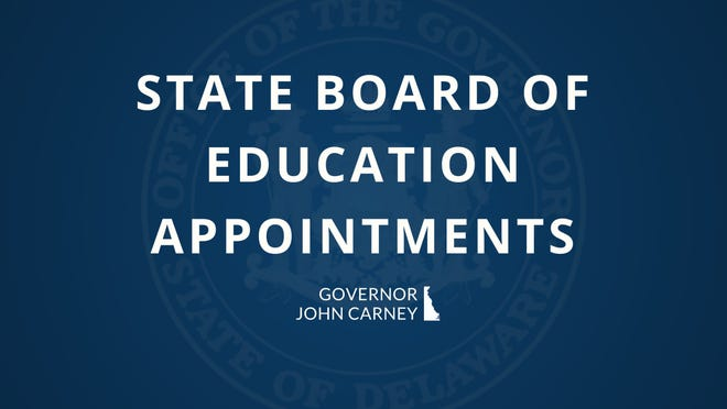 Gov. John Carney has appointed former State Teacher of the Year Wendy Turner and high school student Elise Sampson to serve on the state Board of Education.