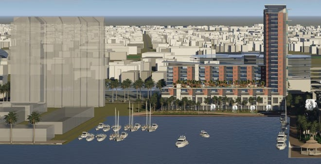 Renderings of the proposed project at the Berkman II site