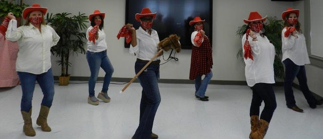 LeBlanc Special Services Center submitted a cowboy-themed dance video to support The Arc of East Ascension's virtual fundraiser, Dancing For A Cause.