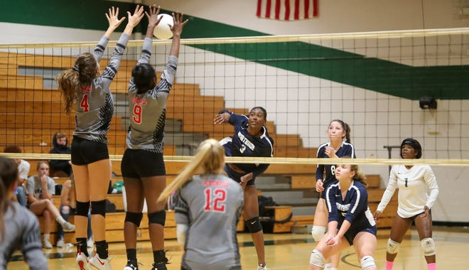 The Coastal 3-A Conference volleyball schedule will consist of 10 conference games with teams permitted to add two nonconference matches. The league will also have a conference tournament [Tina Brooks / The Daily News]