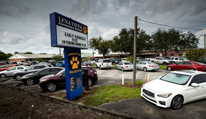 Lena Vista Elementary in Auburndale has been reported with five confirmed COVID-19 cases by school district officials.