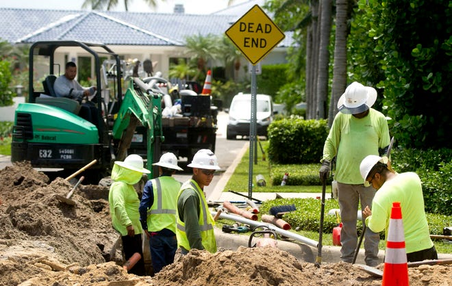 Burkhardt Construction will manage Phase 3 South of the underground utilities project. [Meghan McCarthy/Daily News file photo]