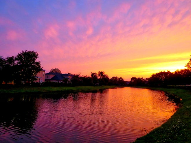 Sunset in Murabella.