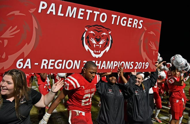 The Palmetto High football team won the regional championship last year before losing in the state semifinal to Miami Central.