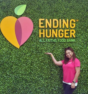 All Faiths Food Bank has hired Mia Pompey as SNAP outreach specialist.
