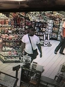 Fayetteville police say the man seen in this security video is Michael Blunt.