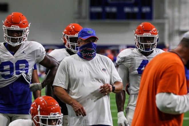 Florida defensive coordinator Todd Grantham