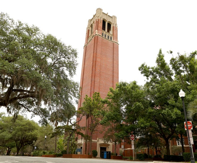 Century Tower on the University of Florida campus.