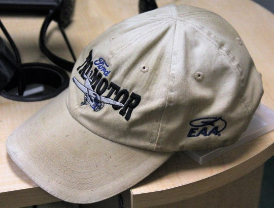 Matt Smith's ballcap shows a bit of West Texas dirt from his travels across the Big Country.  Sept 11 2020