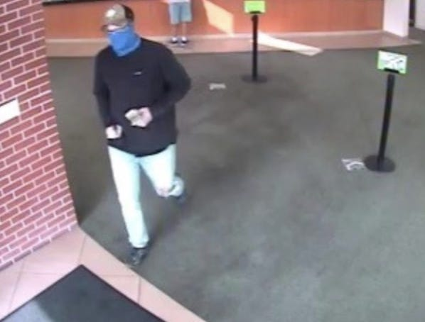 Florence Police are attempting to identify a suspect they say robbed Huntington Bank Tuesday morning.