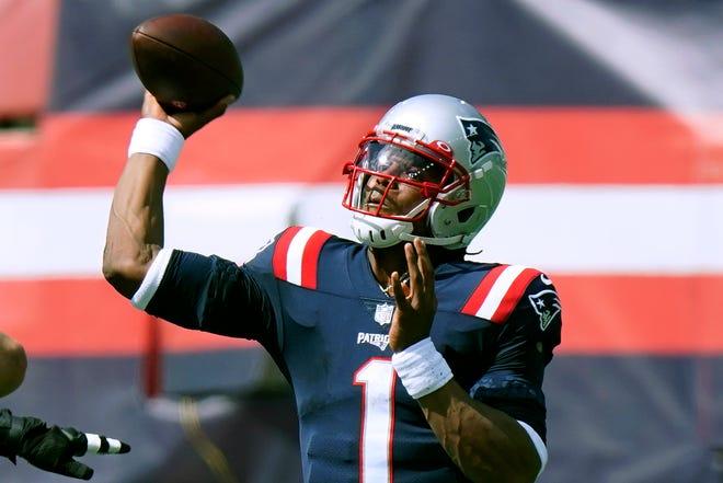 Cam Newton is quarterback of the New England Patriots.