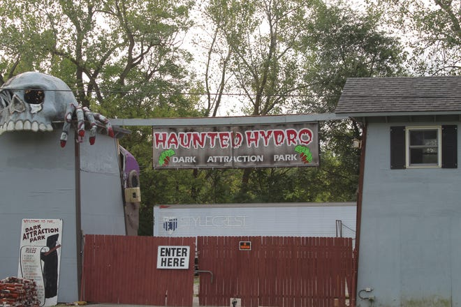 The Haunted Hydro will open for scares beginning Oct. 2.