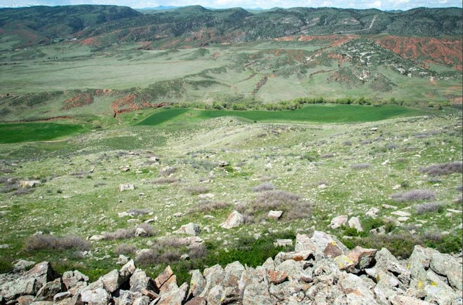 The view west from Red Mountain Open Space toward Hawk Canyon Ranch, which Larimer County has agreed to buy for $3.5 million.