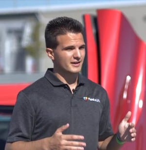 """Recent Brighton High School graduate Adrian Kozakov, 18, raises funds for local non-profit Fund A Life by hosting """"Drive to Survive"""" events for car enthusiasts."""