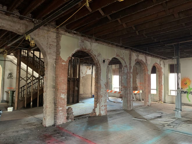 The space above City News, 100 N. Main St., will be on Saturday's Secret City Tour.