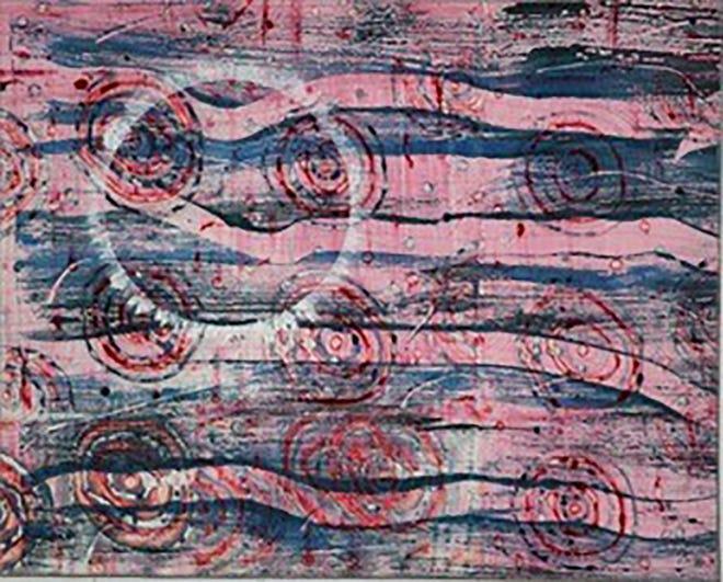 Fiber art works of Cheryl Costley.