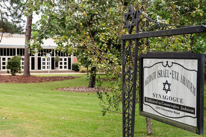 Agudath Israel Etz Ahayem Synagogue on Cloverdale Road in Montgomery, Ala., on Tuesday, Sept. 15, 2020.