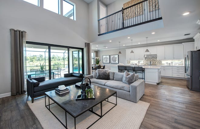 The Heatherton model in Avalon Park at Ave Maria.
