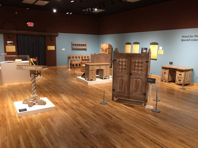 "The exhibit ""Wood for Wood: The WPA and Spanish Colonial Style Furniture"" will be on display through Oct. 3 at the Branigan Cultural Center."
