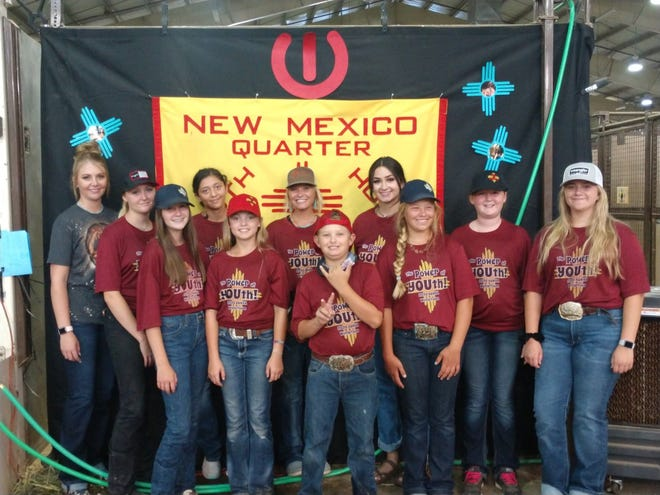 The New Mexico Quarter Horse Youth Association sent 18 young people and their 26 horses to Oklahoma City this past August Ford for the Built Ford Tough AQHA Youth World Show.