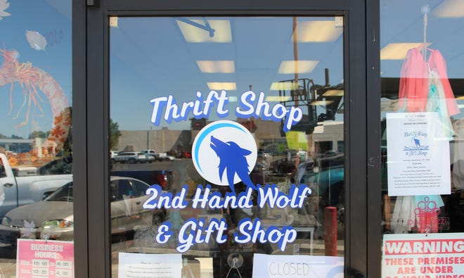 2nd Hand Wolf Thrift Shop & Gift Shop, located at 3030 E. Main St. in Farmington, will have its grand re-opening ceremony at 10 a.m. Saturday.