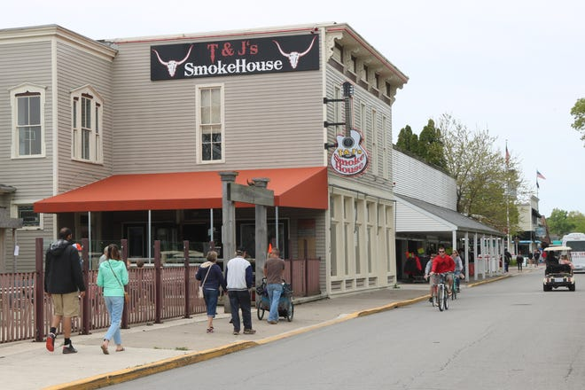 T&J's SmokeHouse in downtown Put-in-Bay had its liquor license suspended for 30 days after being cited for violating public health regulations related to COVID-19.