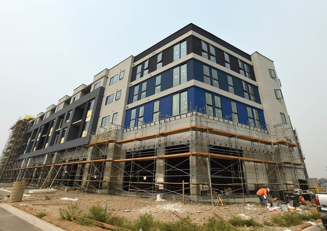 Progress continues on the Park Lane project on Sept.15, 2020Progress continues on the Park Lane Community Life style  project on Sept.15, 2020Progress continues on the Park Lane project on Sept.15, 2020