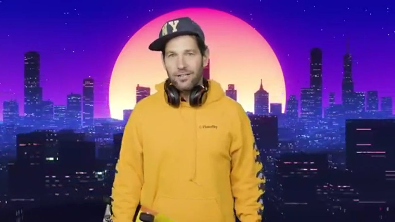 Watch Certified Young Person Paul Rudd Urges New Yorkers To Wear A Mask It S Science