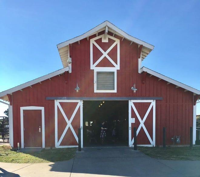 The 4,112-square-foot barn at Rutledge-Wilson Farm Park.