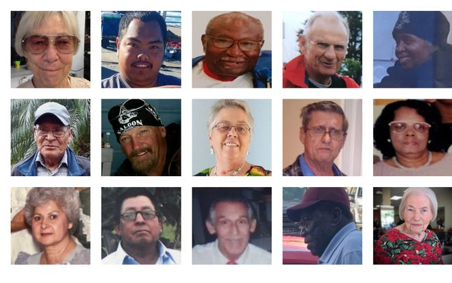 Faces of those we've lost: 500 people on the Treasure Coast have died of COVID-19 complications since March, according to Florida health department data through Sept. 17, 2020.