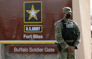 The New Mexico congressional delegation is raising questions about a coronavirus outbreak among a group of Oregon Army National Guard soldiers who returned to their home base in El Paso.