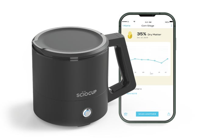 The SCiO Cup was launched earlier this year as an easy way to analyze dry matter.