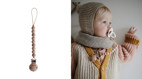 Best gifts for babies: A clip to keep their pacifier at hand